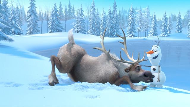 Still from film Frozen