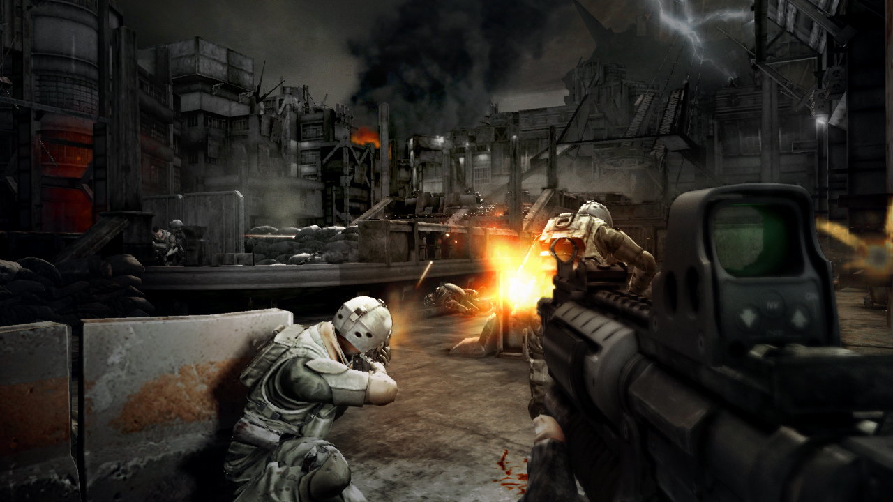 The glory days of Killzone 2! Remember when we didn't think games could look better than this?