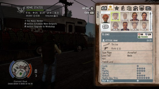 State of Decay Breakdown RV