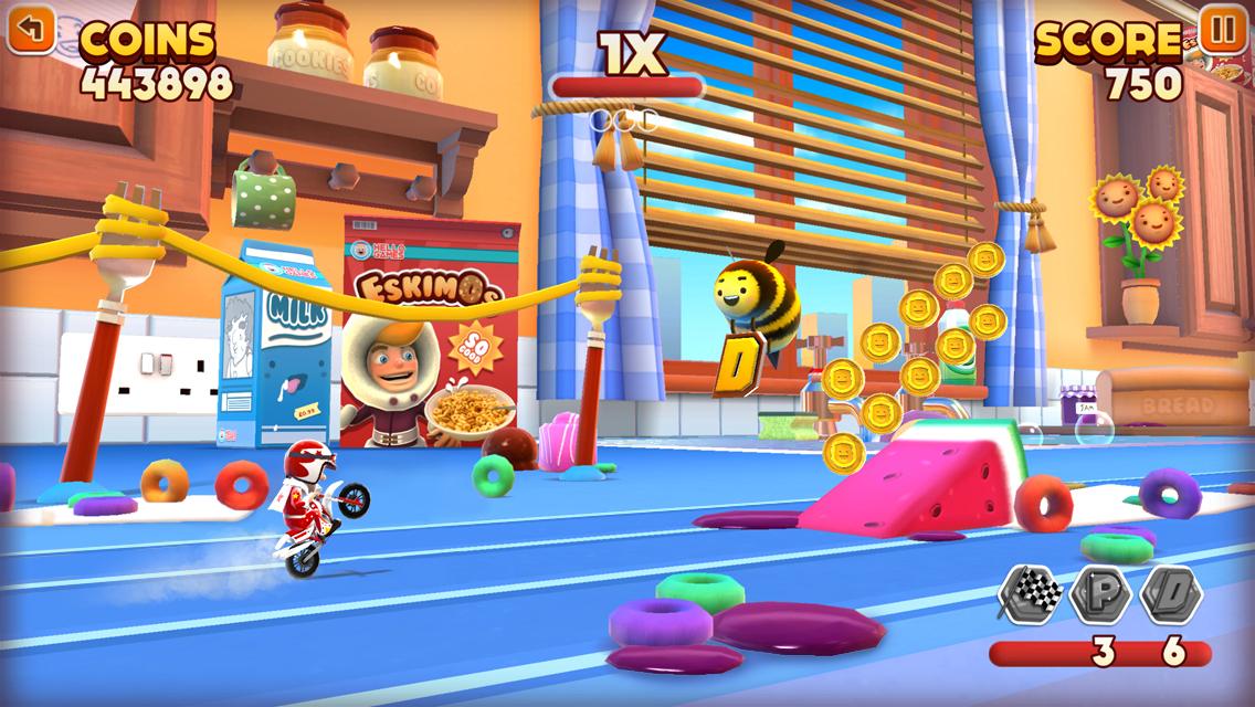 Hello Games Announces Joe Danger Infinity For IOS