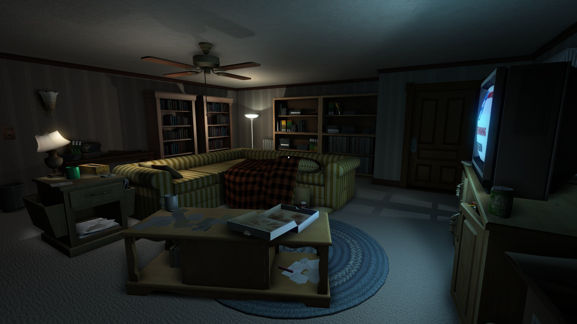 Gone Home TV Room