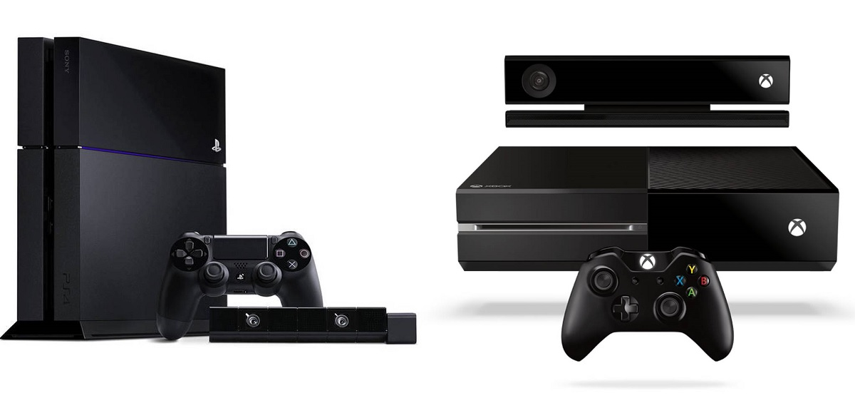 Xbox One and PS4 consoles