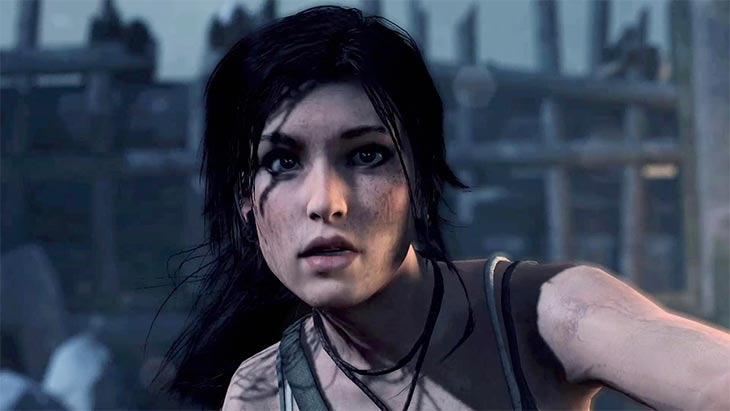 "Lara's new ""Next Gen"" face"