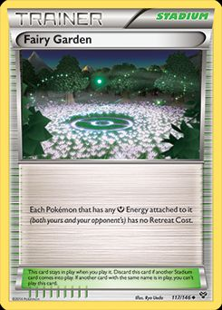 Fairy Garden Trainer card