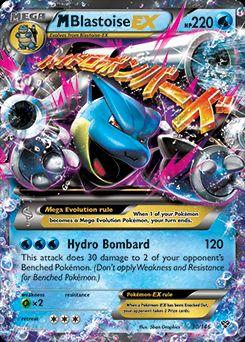 Mega Blastoise_EX card