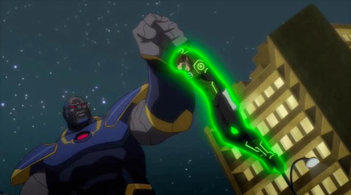 Darkseid vs Green Lantern