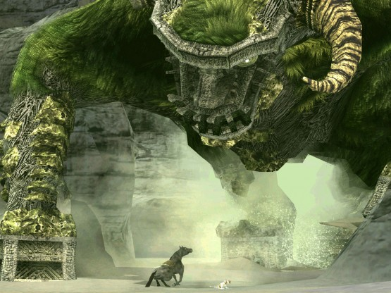 Shadow of the Colossus horned