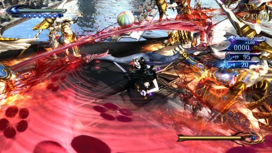 Bayonetta 2 gameplay