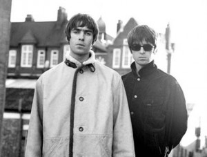 Brothers, Liam and Noel Gallagher