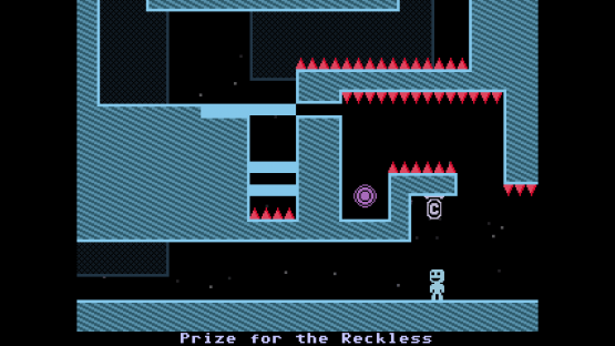VVVVVV looks like it was ripped straight out of a Commodore 64, and that's awesome.