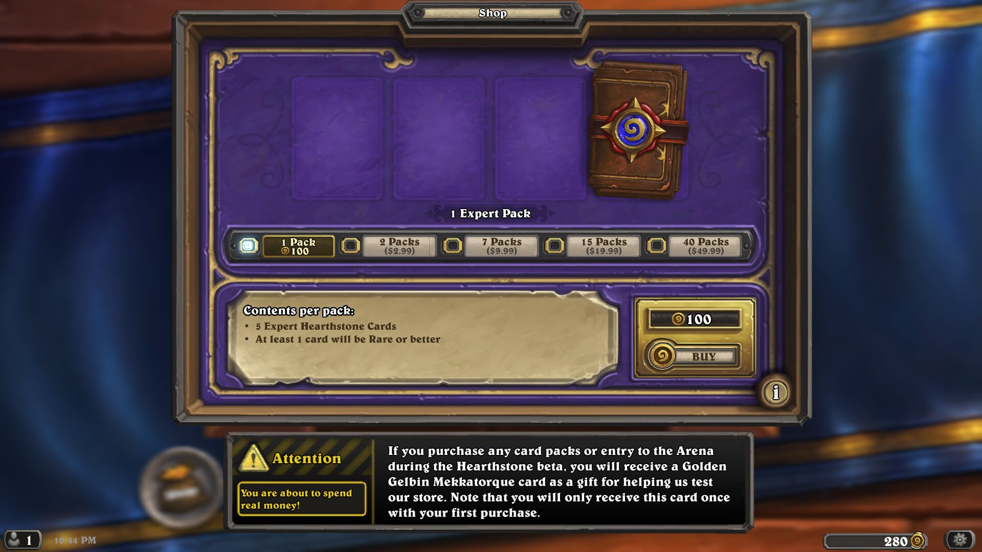 how to see how many wins you have in hearthstone