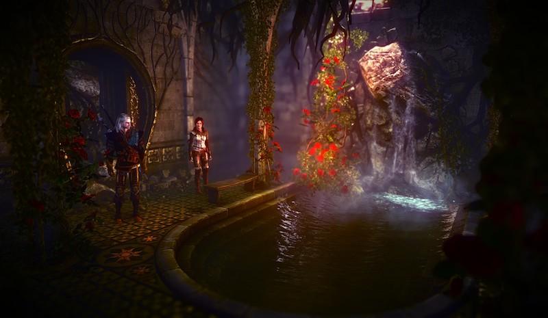 Elven Baths Witcher 2