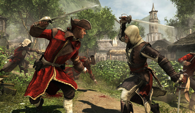 Assassin's Creed IV Combat Kingston