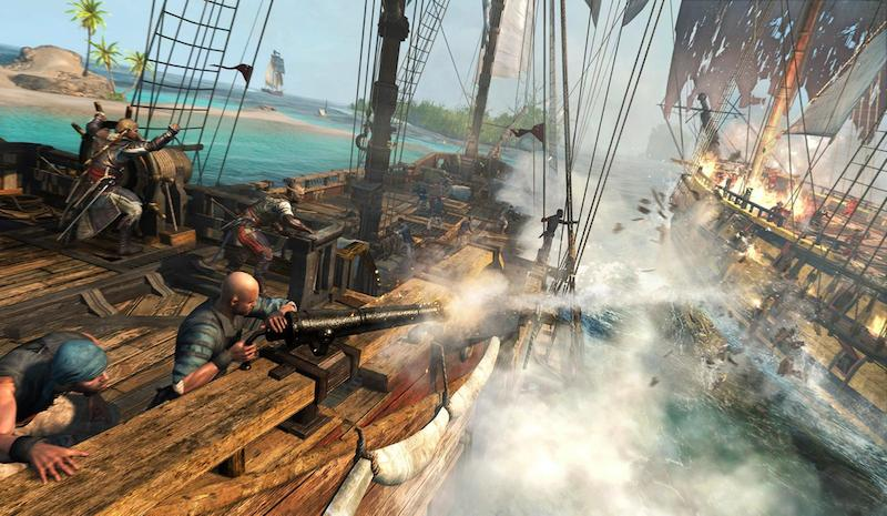 Assassins-Creed-4-Black-Flag-Caribbean-Sea-Naval-Battle