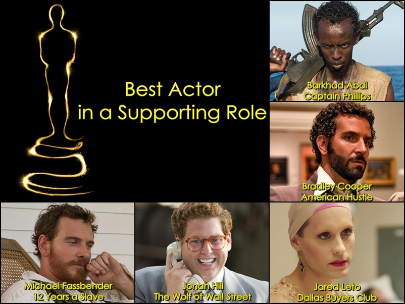 BEST SUPPORTING ACTOR final