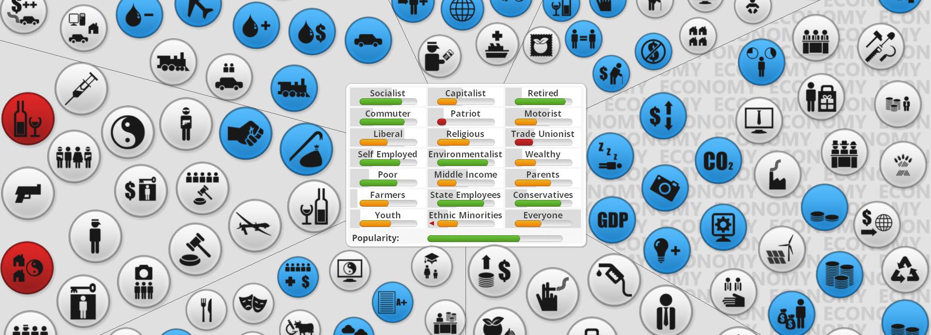 Democracy 3: Social Engineering DLC Review: Ich Bin Ein Gamer!