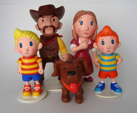 The family that serves as an important part of Mother 3.