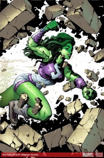She-Hulk varient cover