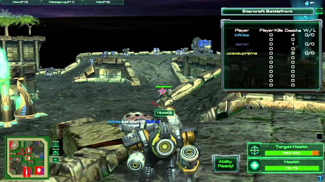 Starcraft battlefront 2