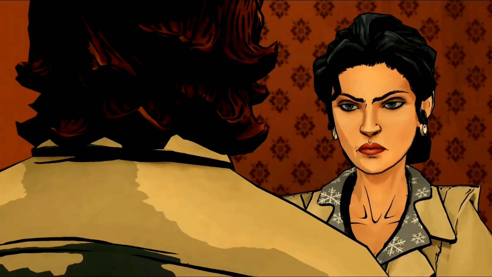 The Wolf Among Us Snow Isn't Happy