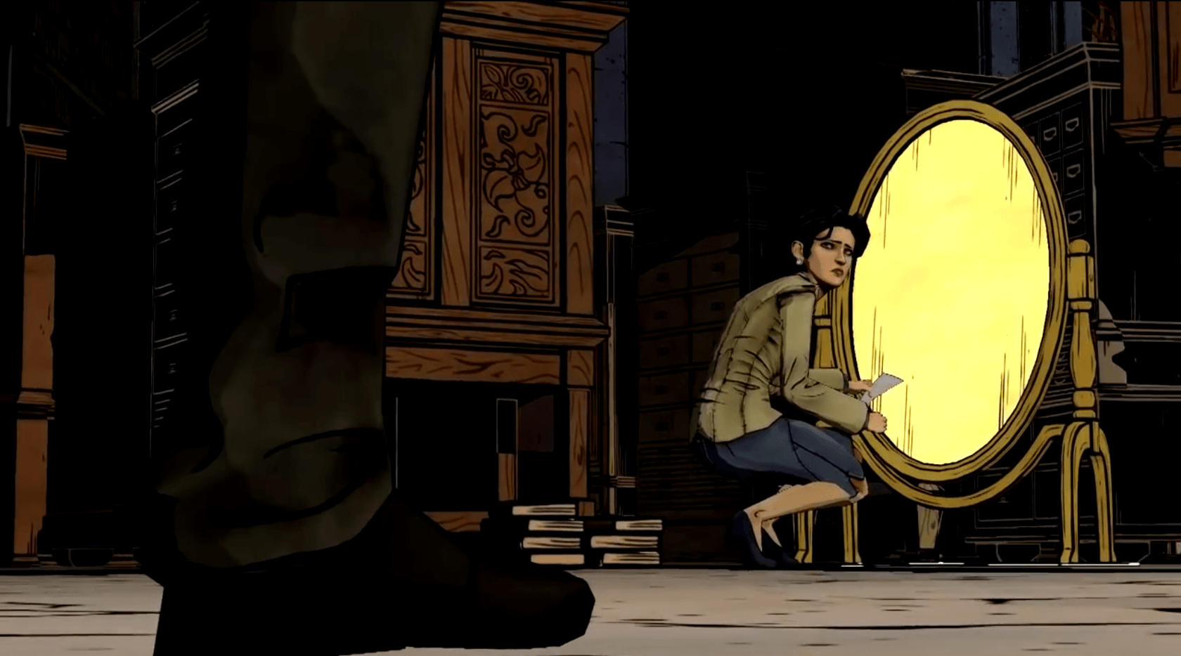 The Wolf Among Us Snow with the Broken Mirror