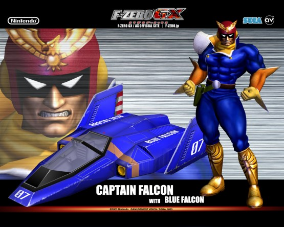 f-zero gx captain falcon