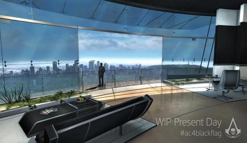 Assassin's Creed Abstergo Entertainment Balcony