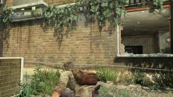 the last of us crouching from blip.tv