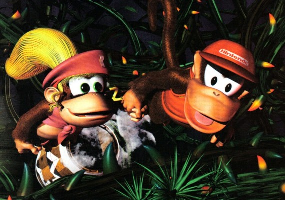 Diddy and Dixie Kong are a formidable and fun team.