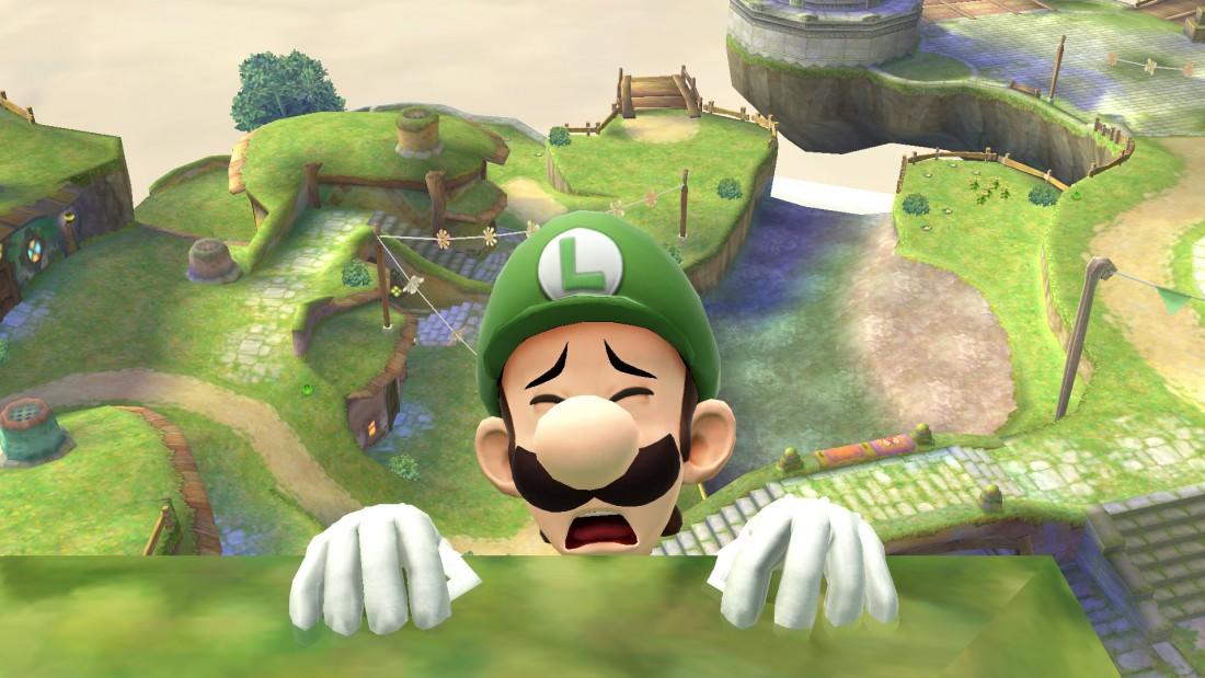Luigi Upset
