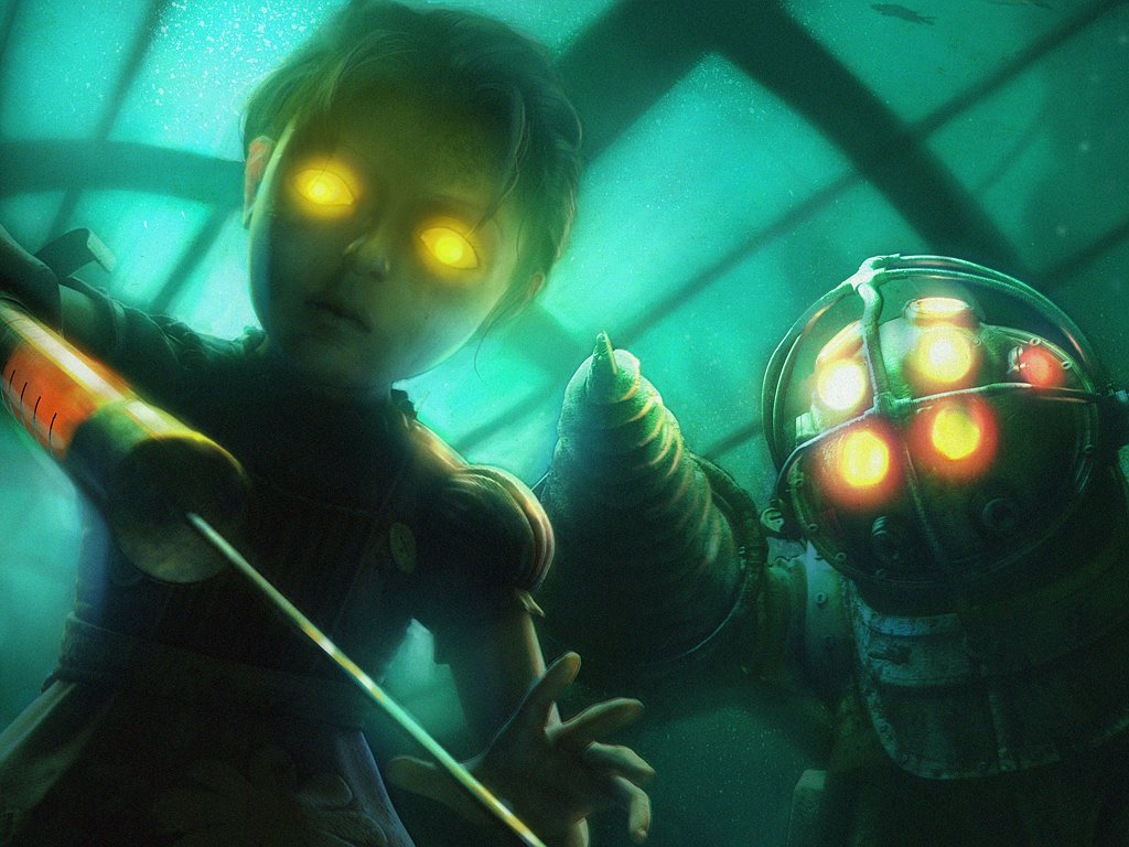 BIOSHOCK_little-sister_big-daddy
