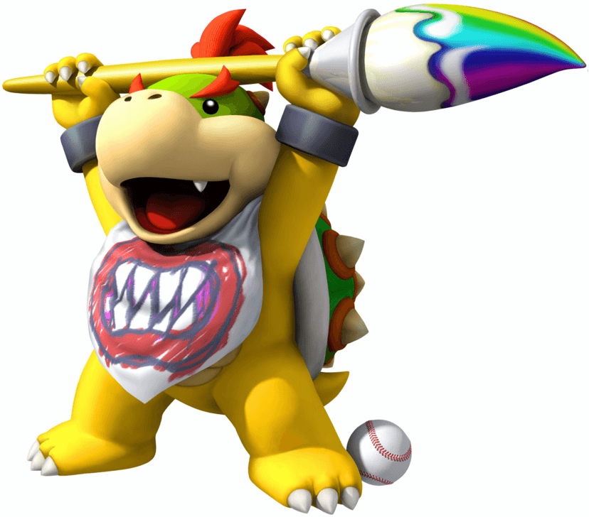 Bowser Jr. Paintbrush