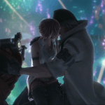 Final Fantasy XIII Snow and Serah fireworks