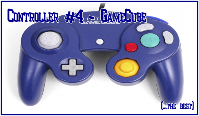 My darling, the GameCube controller.