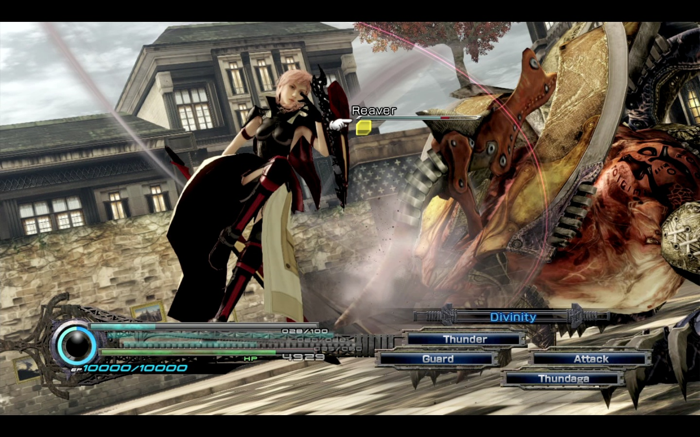 Lightning Returns battle
