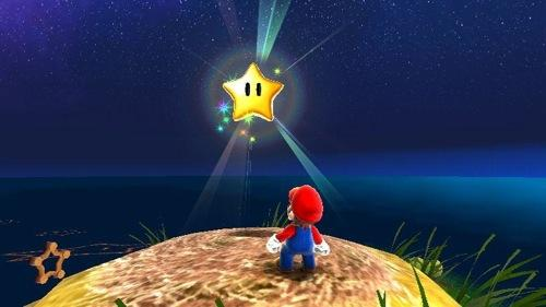 Super Mario Galaxy Star