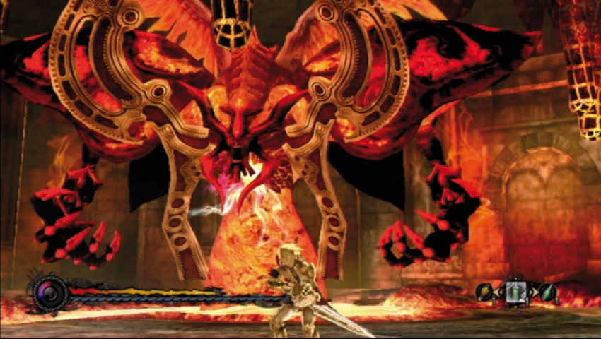 "Boss encounters with The Masters are a mix of God Of War style combat and Shadow of the Colossus's ""attack the magical weak spot"" brand of of taking down large foes."