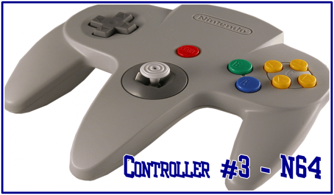 An example in weird design choices, the N64 controller did have its good points.