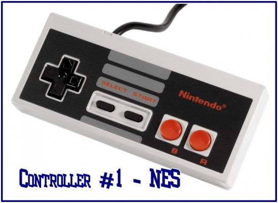 First up, the nice simple NES controller.