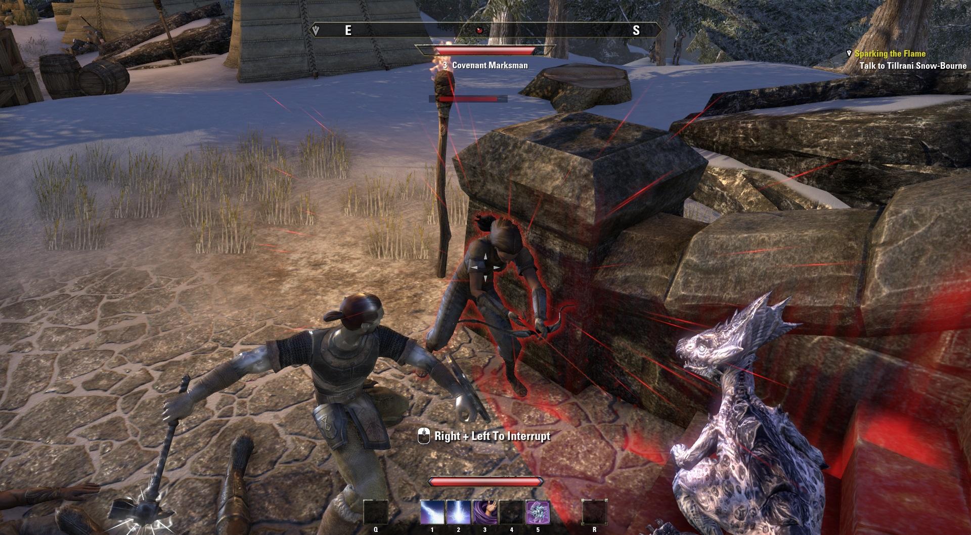 TESO combat