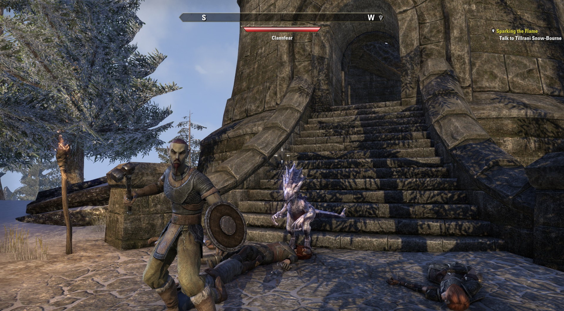 TESO dark elf sorcerer