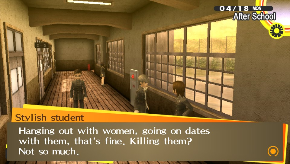 Persona 4 eventually becomes a deep, clever, delightfully charming RPG, but it takes good five or six hours to get there.