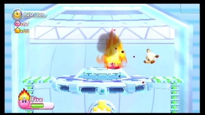 Fire Kirby
