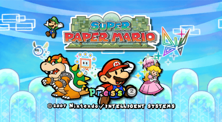 Looks can be deceiving, and Super Paper Mario's plot is surprisingly dark.