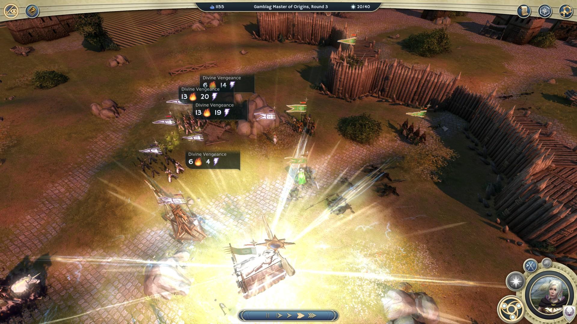 AoW 3 campaign siege
