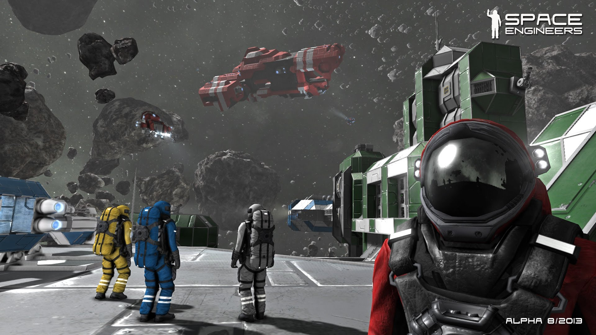 Getting Hands-On With Space Engineers – A New 2014 Space Odyssey