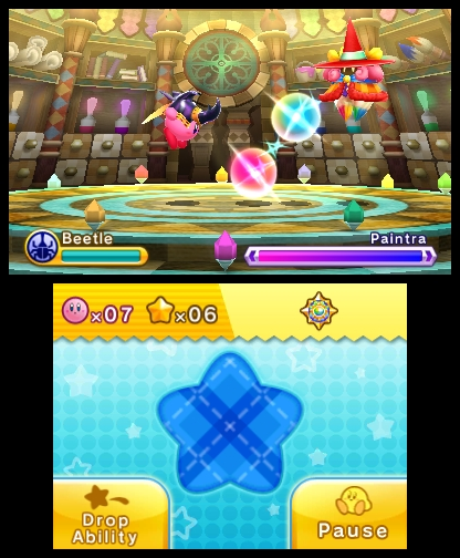 Beetle is a formidable power up, and a great tool against the game's bosses.