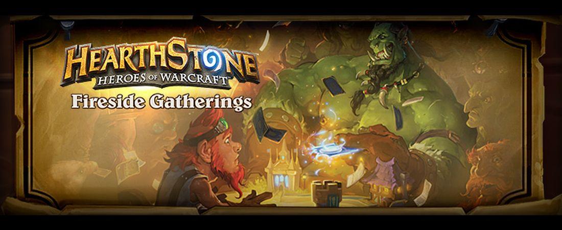 "Blizzard Announces Hearthstone ""Fireside Gatherings"" Starting April 26"