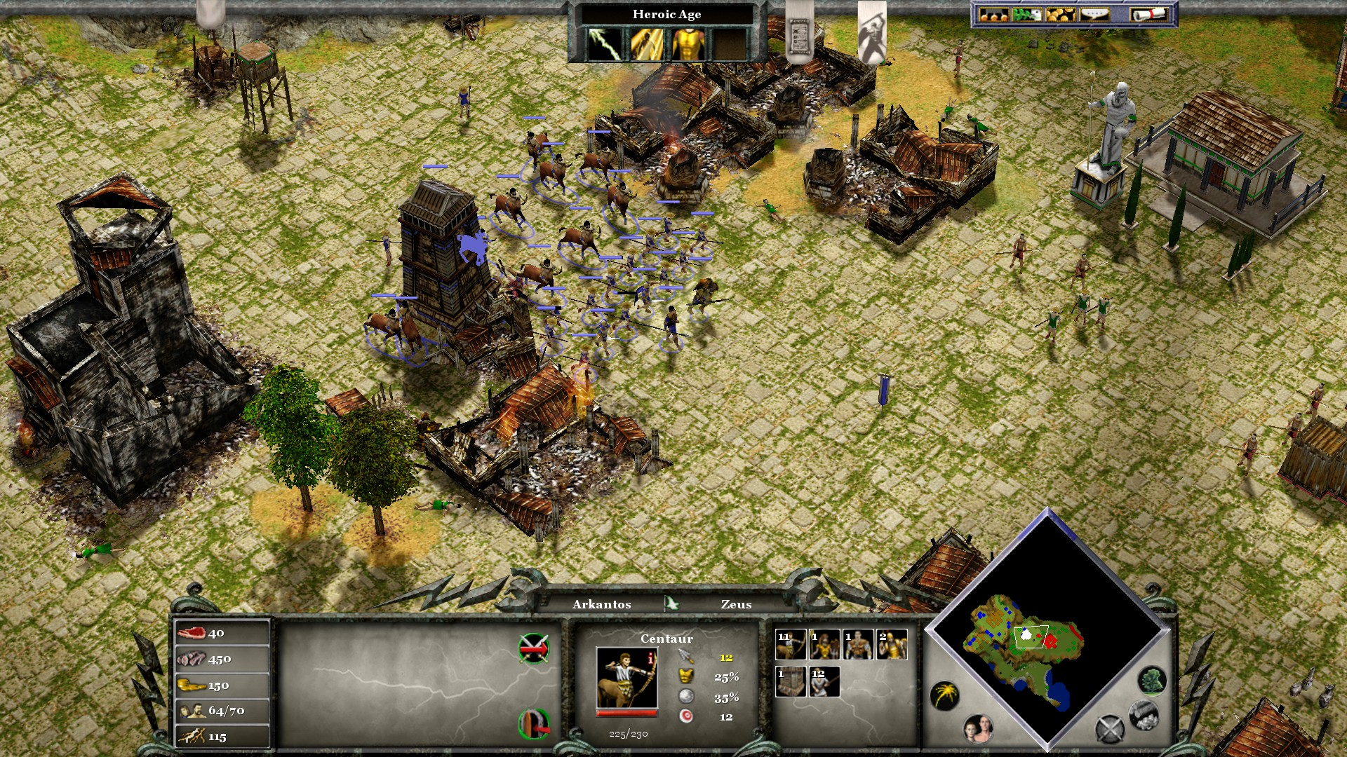 Age Of Mythology Extended Edition Review Relic Of The Past