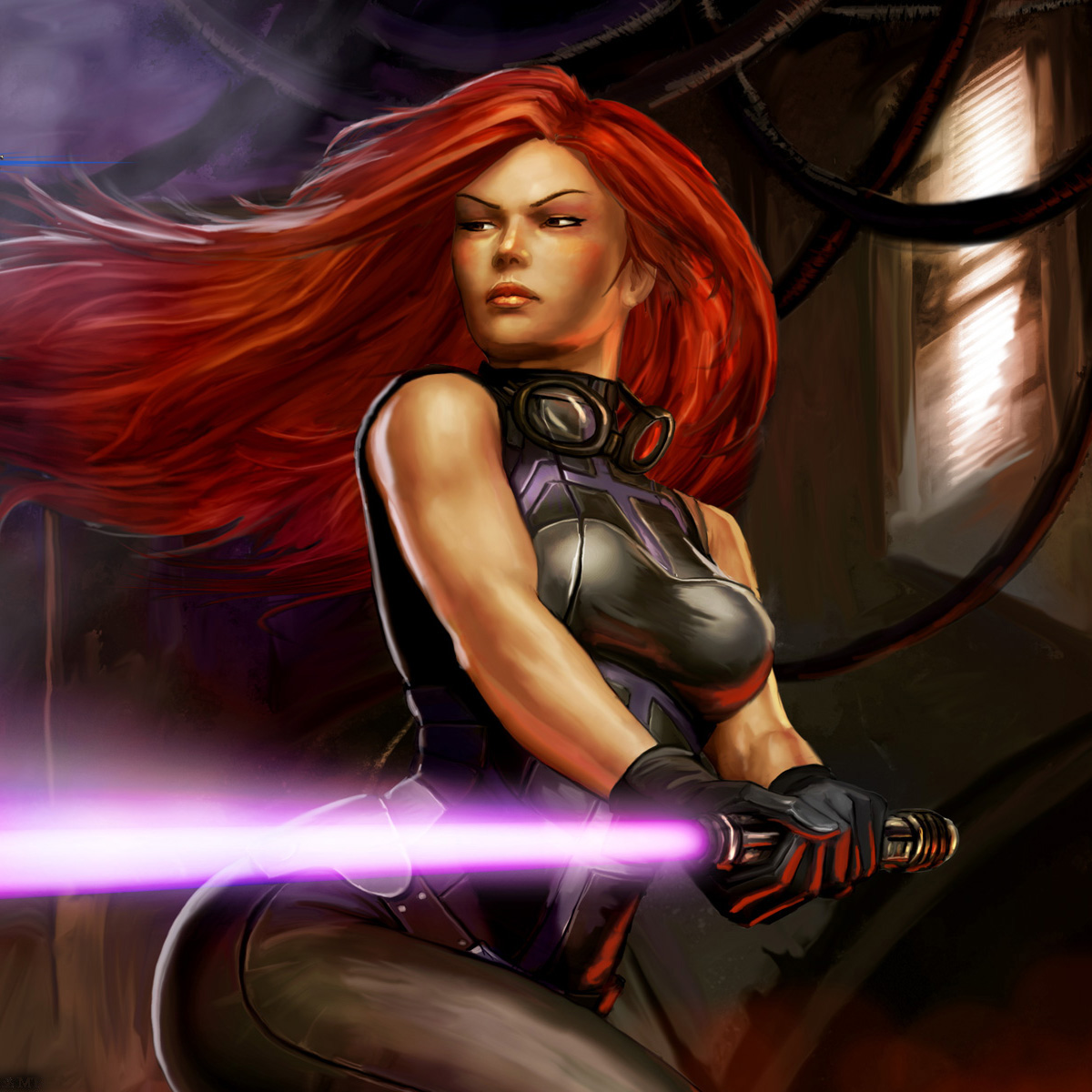 Mara Jade is perhaps the most popular Expanded Universe character
